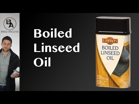 Why I Never Use Boiled Linseed Oil