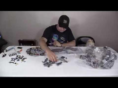 Millennium Falcon Lego Build Speed Run