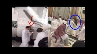 #x202b;شاهد ماذا سجلت كاميرات المراقبة فى مكة فى احد المبانى القريبة من الحرم المكى؟ لن تصدق#x202c;lrm;