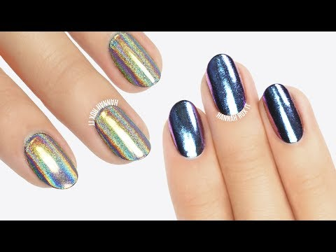 Sally Hansen Salon Chrome Step by Step Tutorial!
