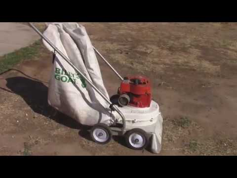 Lindell Yard Vac with New Bag and Test