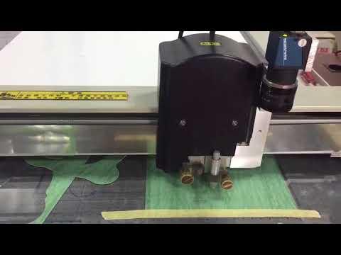 motocycle cylinder head gasket cutting machine