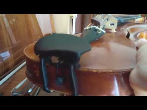 How to install Wittner Augsburg Chin Rest on Your Violin or Viola