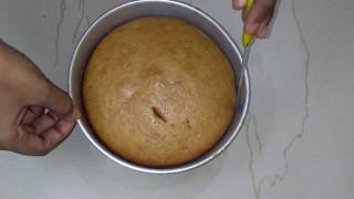 कढ़ाई में बनाये आटे का केक /Eggless Whole Wheat (Atta) Cake without Oven