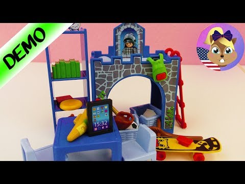 Playmobil KIDS ROOM with CASTLE BED! Unpack and Assemble Demo