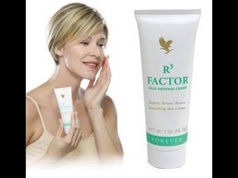 R3 FACTOR - How to Retain, Restore, Renew your Skin with Aloe