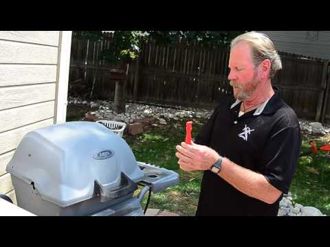 How to light a BBQ Grill without an Ignitor switch