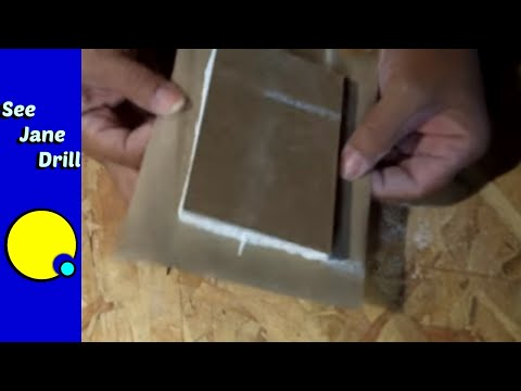 How to Make a Drywall Plug (California Patch)