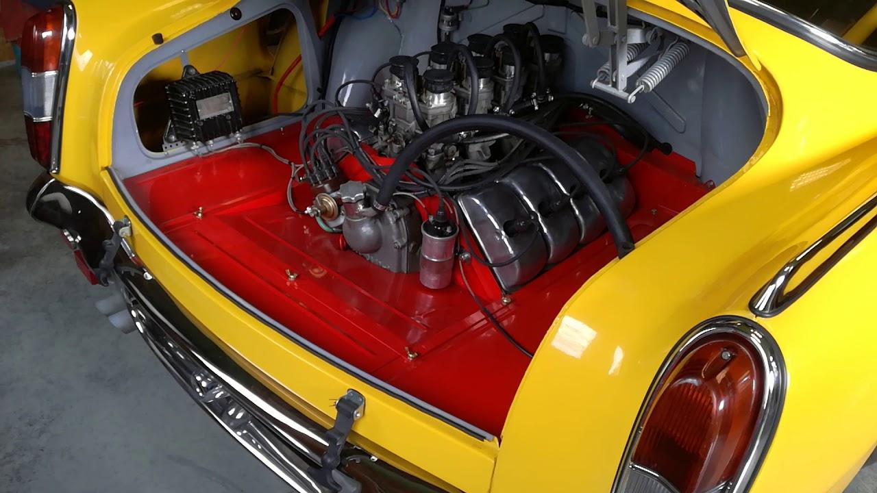 Starting Tatra 603 - Nürburgring 66