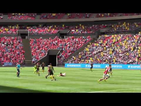 Fifa 15 PS4 goles y fails