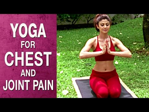 Yoga for Chest, spine and joint pain - Parvatasana (Hindi)  - Shilpa Yoga