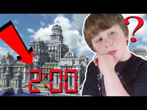 BUILDING A MINECRAFT CITY IN UNDER 2 MINUTES   CLICKBAIT?