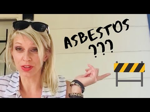 Buying Real Estate with Asbestos Shingles? Watch this first