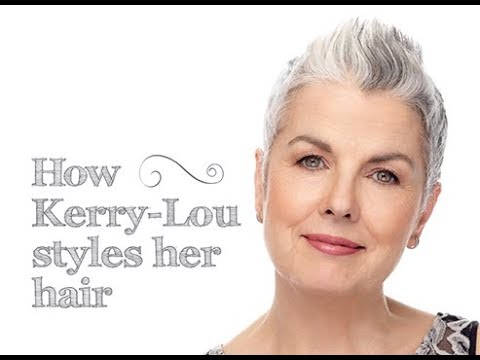 How Kerry Lou Styles Her Short Hair