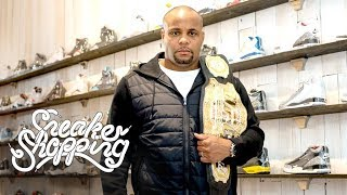 Daniel Cormier Goes Sneaker Shopping With Complex