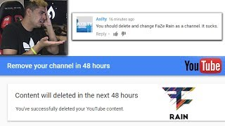 Goodbye FaZe Rain... MY NEW NAME