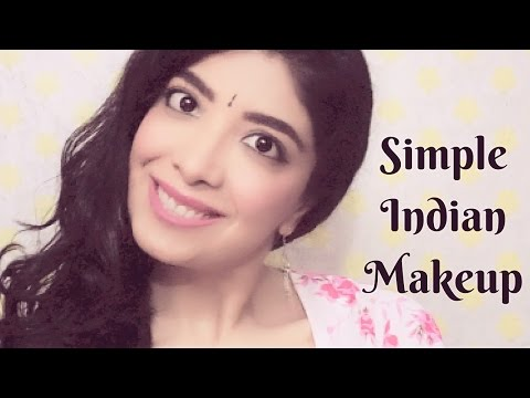 Simple Everyday Indian Makeup   Quick Daily Makeup Tutorial for beginners using Pond's BB Cream