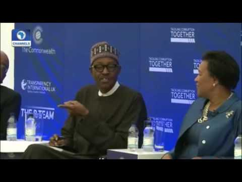 VIDEO: How Buhari responds to Corruption comment on Nigeria