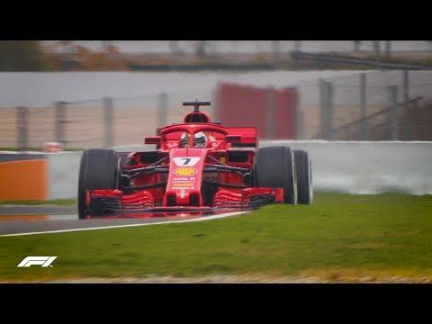 F1 Testing 2018 Highlights: Day 1