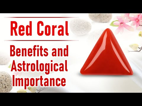 Red Italian Coral Gemstone: Properties, Uses And Benefits
