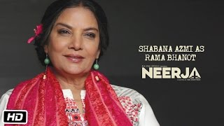 Making of Neerja #5: Shabana Azmi As Rama Bhanot | Sonam Kapoor