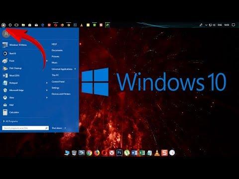 Windows 10 PC का Start Button, Start Menu, Taskbar Style Change कैसे करे?