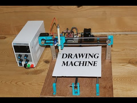 DIY CNC DRAWING MACHINE | GRBL BASED CNC MACHINE
