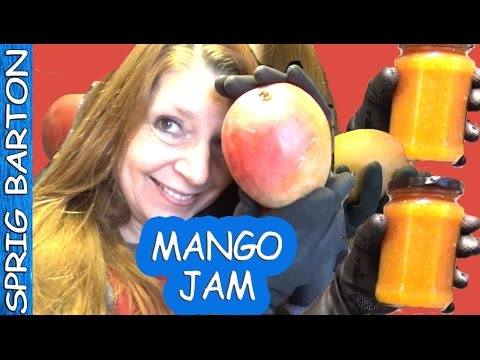 HOW TO MAKE MANGO JAM & PRESERVES ★ GREAT RECIPE ★ SPRIG BARTON