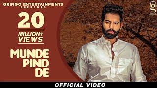 Munde Pind De Official Video Parmish Verma Agam Mann Latest Punjabi Songs 2020