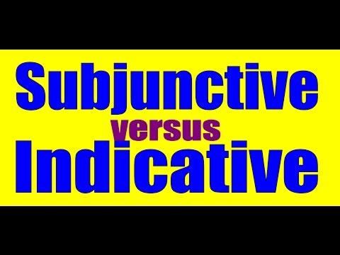 Subjunctive vs. Indicative: Spanish Lesson / Practice