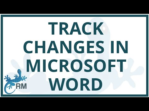 Word: How to accept or reject track changes