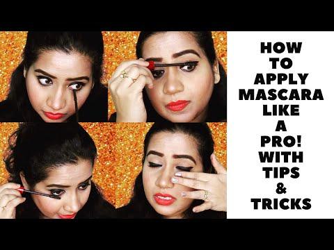 How to Apply Mascara Like a Pro   2 Ways
