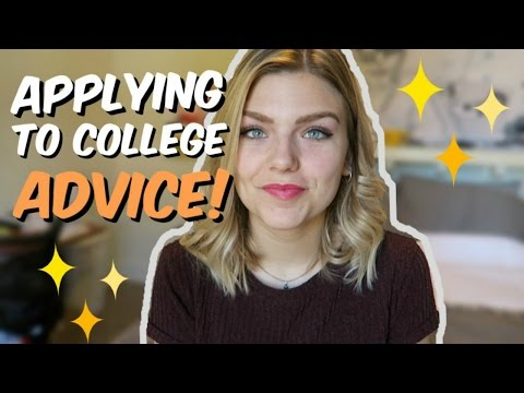 COLLEGE APPLICATION PROCESS ADVICE! Picking a Major, Financial Aid, & More