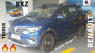 Renault Triber RXZ | 2019 Renault Triber | including 3rd row demo | review | just awesome !!