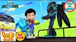 Vir: The Robot Boy | The Train Chase | As Seen On HungamaTV | WowKidz Action