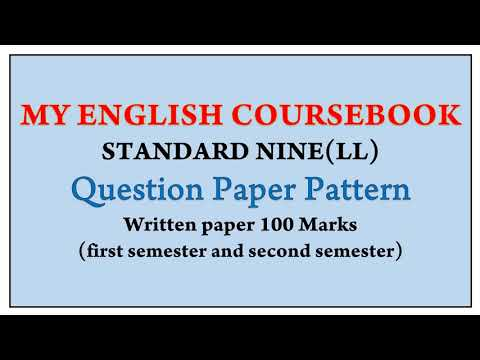 Question Paper Pattern by ENGLISH गुरू