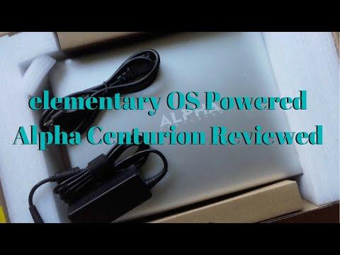 Hands on With elementary OS Ultrabook Alpha Centurion