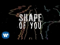 Ed Sheeran - Shape Of You (Latin Remix)  Ft Zion & Lennox [Official Lyric Video]