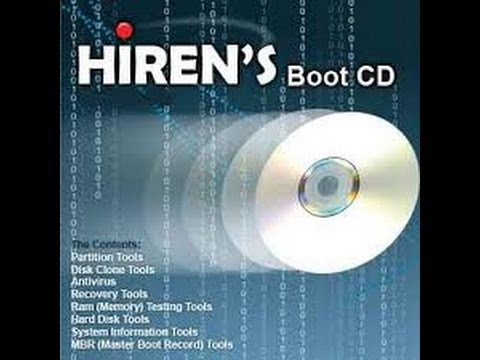 How to Download and Burn Hiren's Boot CD 15