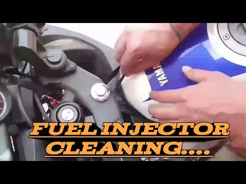 How to clean fuel injector of yamaha r15