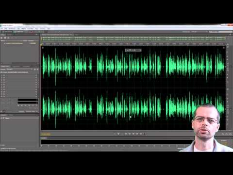 Cleaning up sound with Adobe Audition