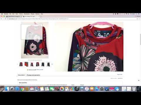 Weekly eBay sales update - 7-14 July - UK reseller - ladies clothes, mens shoes & fused glass