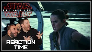 Star Wars: The Last Jedi Behind The Scenes - Reaction Time!