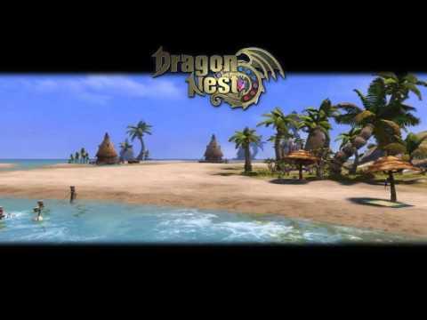 Dragon nest sea fishing event theme