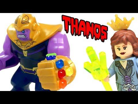 LEGO Thanos Figure Collection Comparison