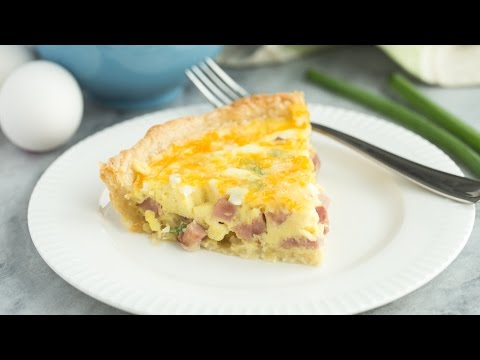 Puff Pastry Ham And Cheese Quiche Recipe