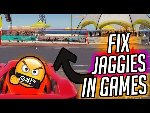 How To Reduce Jaggies in All PC Games - Reduce Jagged Edges/Artifacts In Games - #hsrworld