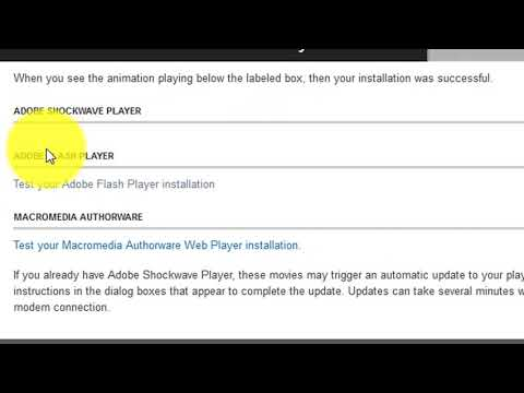How to Check Flash Player is Installed on your Browser