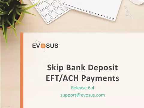 Skip Bank Deposit