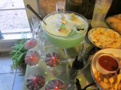 DIY Baby shower punch decorating ideas